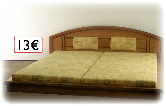 posteľ 13€