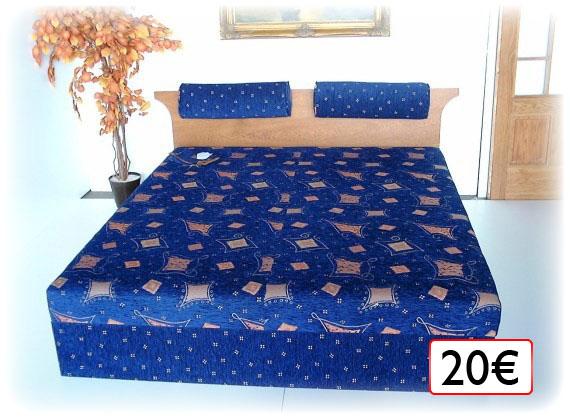 posteľ 20€