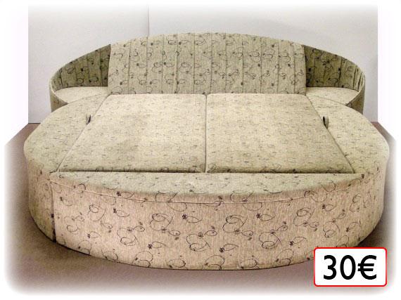 posteľ celočalúnená 30€