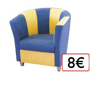 kreslo 8€
