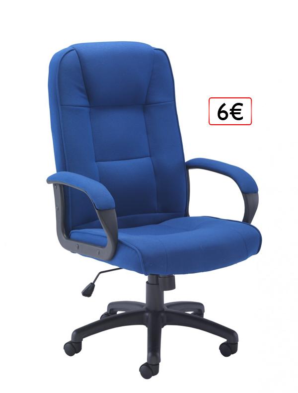 kancelárska stolička 6€