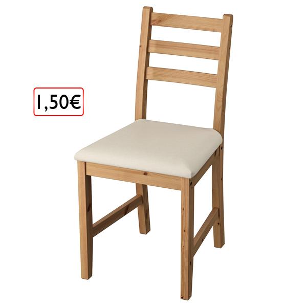 kuchynská stolička 1,50€