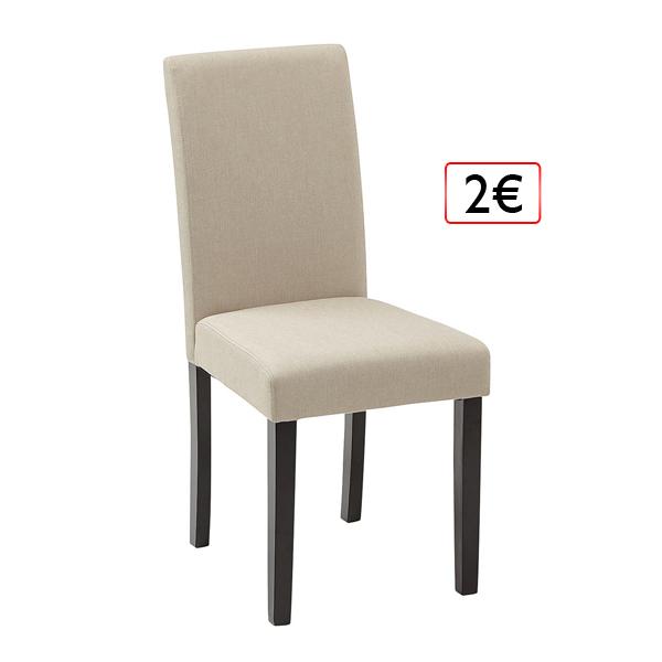 jedálenská stolička 2€