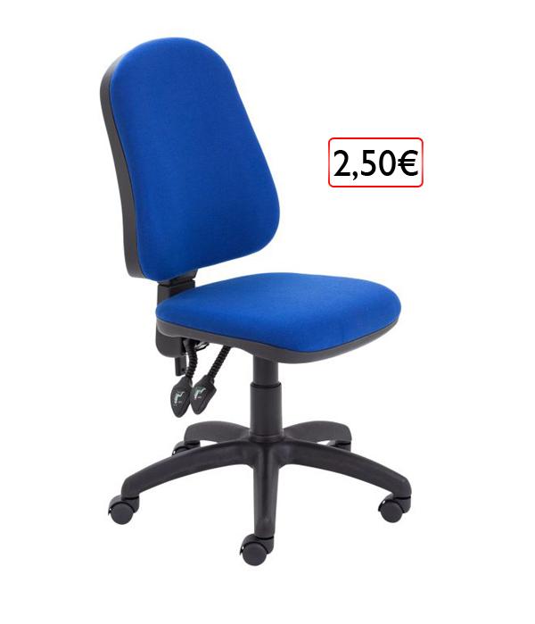 kancelárska stolička 2,50€